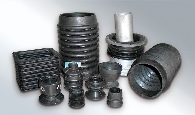 Rubber ducts, parts for occular use in military vehicles or tanks