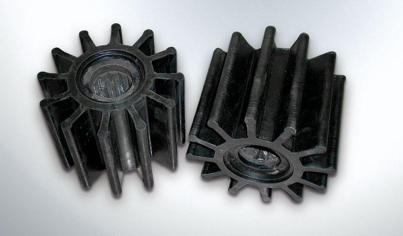 Ιμπέλερ ελαστικά για αντλίες νερού ή χημικών