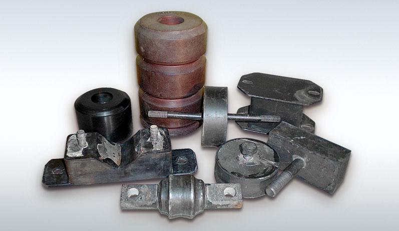 Βάσεις δονητικών μηχανημάτων και αποσβεστήρες κραδασμών