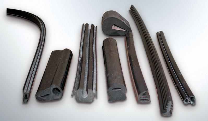 Ελαστικά προφίλ για διάφορες χρήσεις όπως κουφώματα, έπιπλα κ.λ.π.